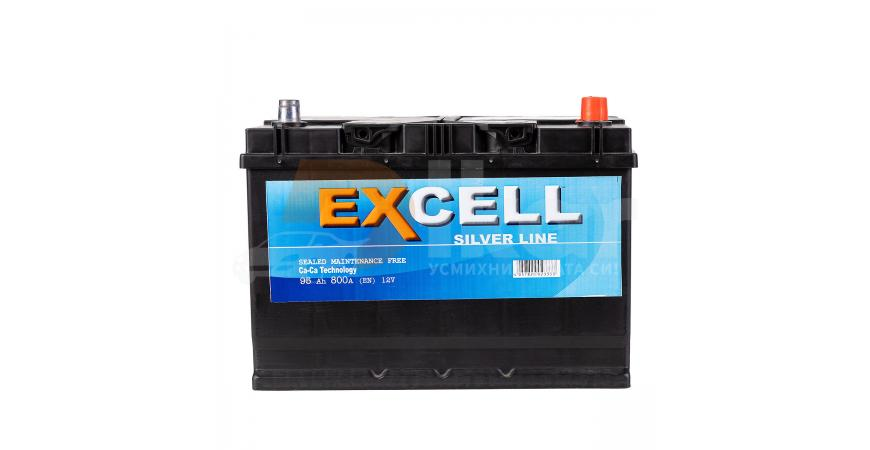 СТАРТОВ АКУМУЛАТОР EXCELL 95AH 740A ASIA Д+
