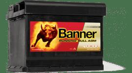 BANNER RUNNING BULL AGM 105AH 950A Д+