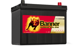 BANNER RUNNING BULL EFB 95AH 760A ASIA Д+
