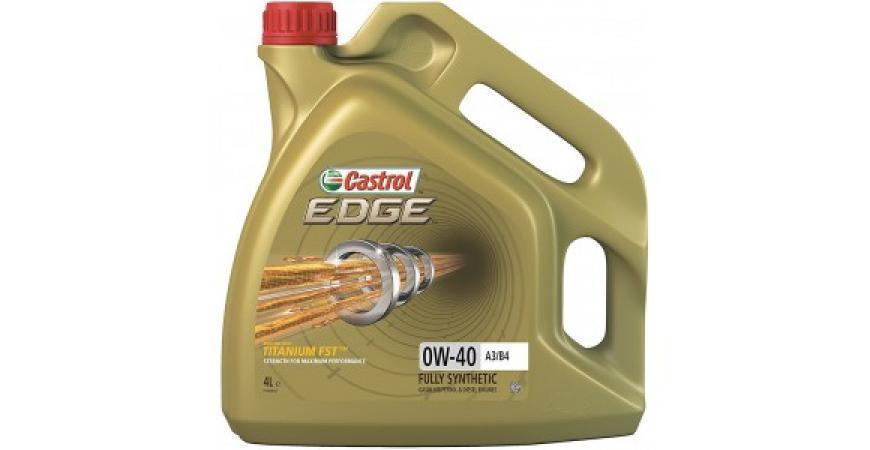 CASTROL EDGE 0W-40 4 литра